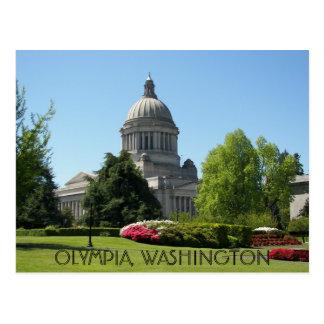 Olympia staten Washington reser Vykort