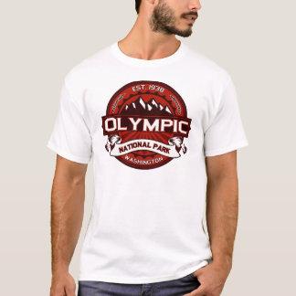 Olympisk Crimson Tee Shirt