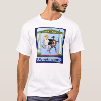 Olympisk vinnare t shirt