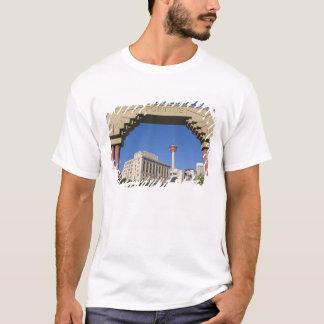 Olympiskt plaza- och Calgary torn, Alberta, Kanada Tee