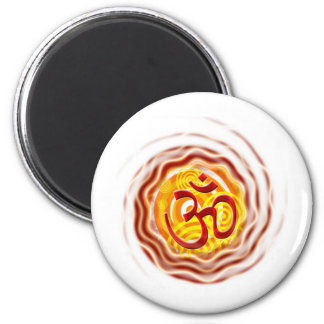 Om 2 magnet rund 5.7 cm