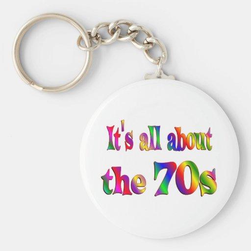 Om 70-tal nyckel ringar