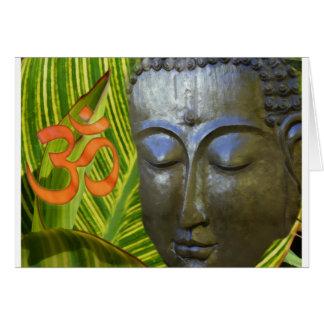 Om Buddha i det sammanlagda universum av Buddhahoo Hälsningskort