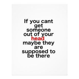 Om cant du får någon ut ur ditt huvud, kanske th brevhuvud