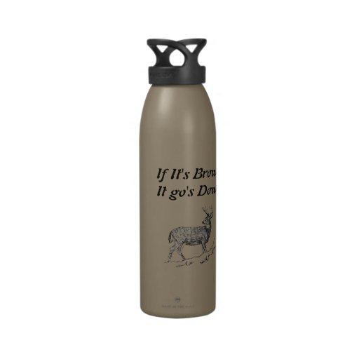Om det är bruntet det, gick besegrar återanvändningsbar vattenflaskor