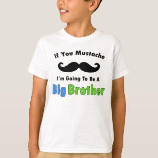Om dig mustaschstorebrordesign t shirts
