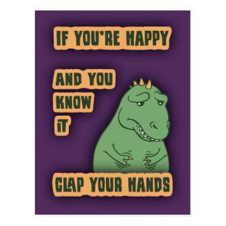 Om dina ärmar ner vykort