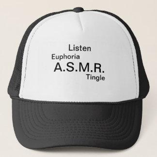 Om du är en fläkt av ASMR, visa av din passion. Truckerkeps