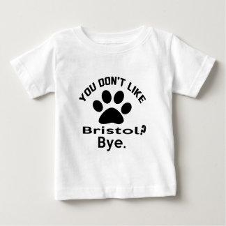 Om du inte gillar den Bristol katten? Bye T-shirts