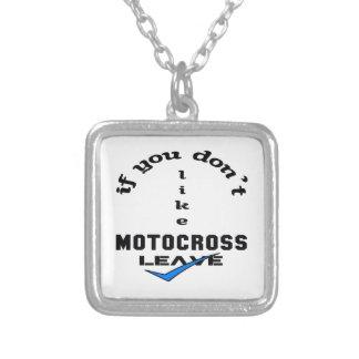 Om du inte gillar Motocrosslämnor Halsband Med Fyrkantigt Hängsmycke