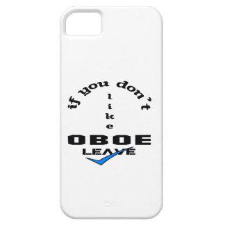 Om du inte gillar Oboe lämnor iPhone 5 Case-Mate Skydd