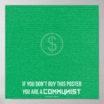 Om du inte gör köp denna affisch…