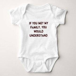 Om du mötte min familj, skulle du förstår t-shirt