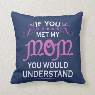 Om du mötte min mamma kudde