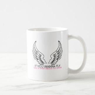Om du önskar att flyga… kaffemugg