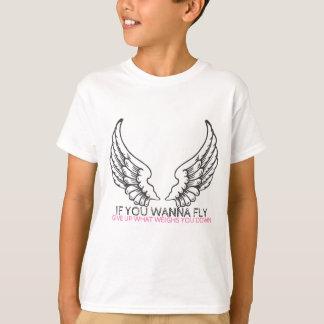 Om du önskar att flyga… tshirts