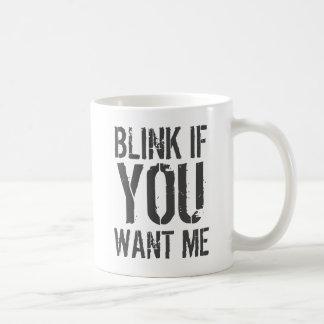 Om du önskar mig kaffemugg