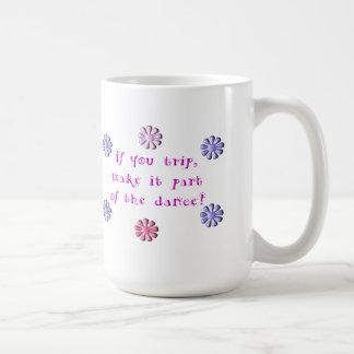 Om du snubblar kaffe kopp