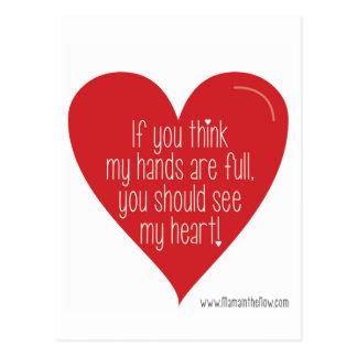 Om du tänker, är min händer full, dig bör se… vykort