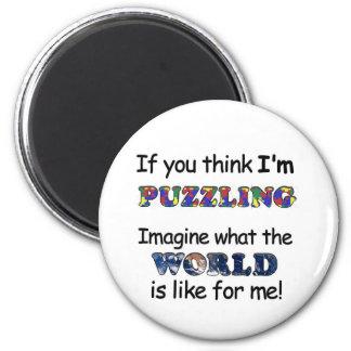 Om du tänker att förbrylla för I-förmiddag Magnet Rund 5.7 Cm