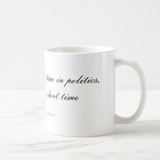 Om en vecka är en lång tid i politik, är den kaffemugg