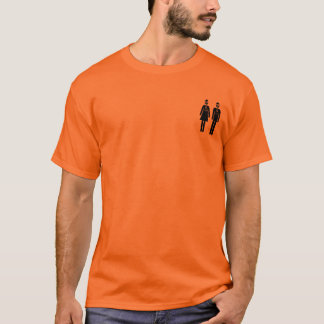 Öm hals t-shirt