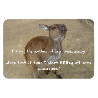 Om I-förmiddag författare av min egna berättelse…. Magnet