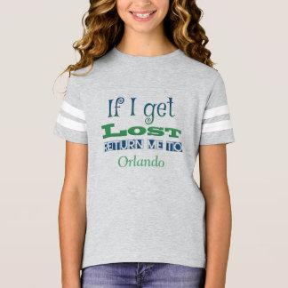 Om jag får borttappad, gå mig tillbaka till t shirt