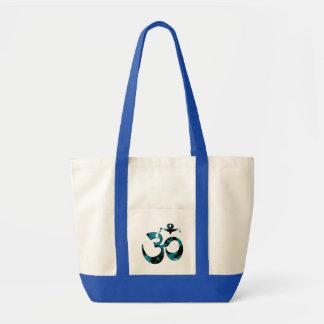 Om-kamouflage - Yogatote bags Tygkasse