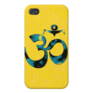 Om-konst - iphone 4 cases (gult)
