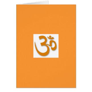 Om-lager för Yoga Hälsningskort
