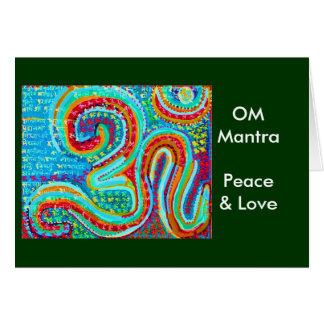 Om-Mantra Om108 Hälsningskort