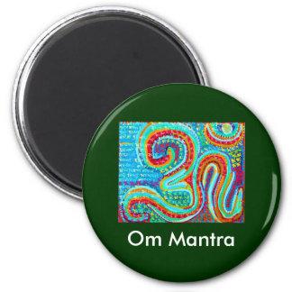 Om-Mantra Om108 Magnet Rund 5.7 Cm