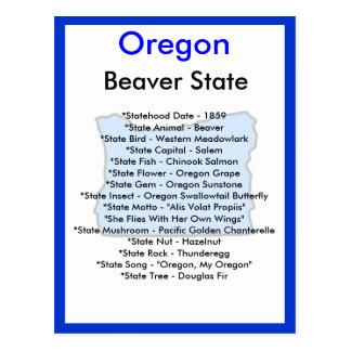 Om Oregon Vykort