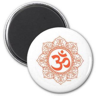 om-shanti magnet rund 5.7 cm