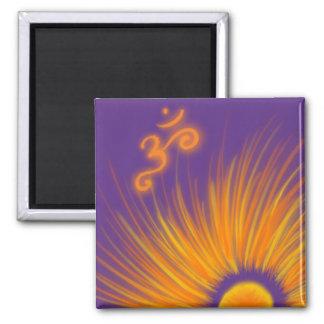 Om-soluppgångmagnet - lila
