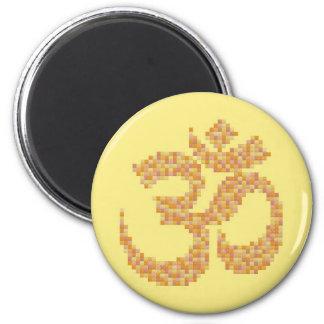 Om-symbol Kylskåpsnagnet