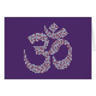 Om-symbol OBS Kort