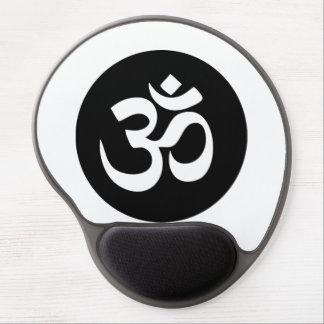 Om-symbolet cirklar gelen Mousepad Gel Musmatta