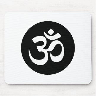 Om-symbolet cirklar Mousepad Mus Mattor