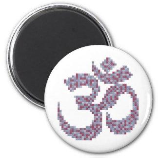 Om-symbolmagnet Magneter