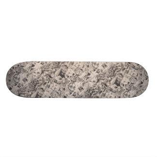 Om Time stiga ombord Mini Skateboard Bräda 18,5 Cm