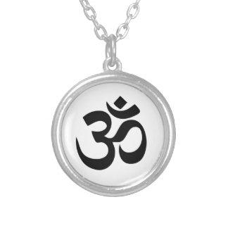 Om-Yoga Silverpläterat Halsband