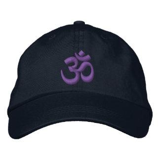 Om-YogaChakra lilor eller skräddarsy det broderi Broderad Keps