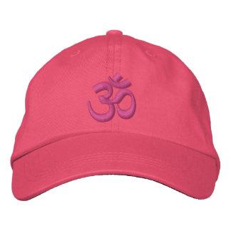Om-YogaChakra rosor eller skräddarsy det broderi Broderad Keps