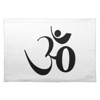 Om-Yogameditation Bordstablett