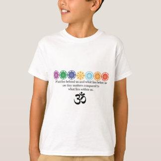 Om-Yogautslagsplats T Shirts