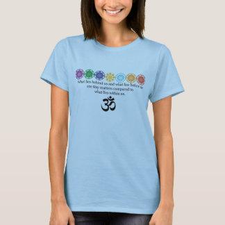 Om-Yogautslagsplats Tee Shirt