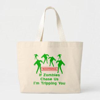 Om Zombies jagar oss I-förmiddagen som snubblar di Tote Bag
