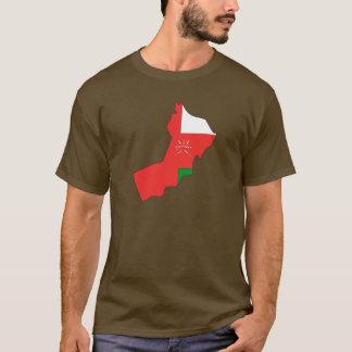 Oman flaggakarta tshirts